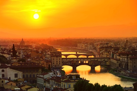 Florence bridge 12 photo