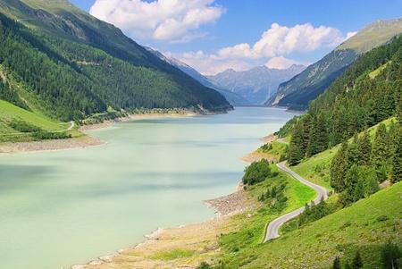 switchback: Kauner valley glacier road 10