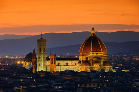 01: Florence cathedral night 01