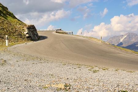 switchback: Kauner valley glacier road 12