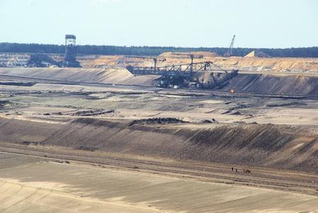 open pit: open pit Welzow 07