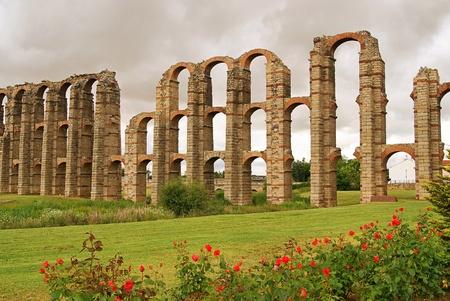 merida: Merida Aqueduct  Stock Photo
