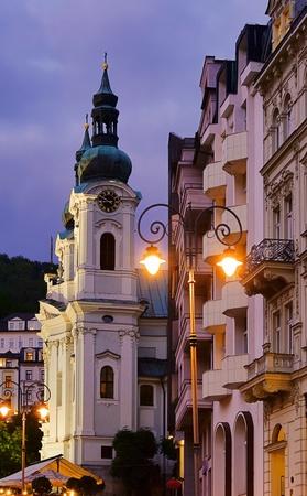 vary: Karlovy Vary Maria-Magdalena church