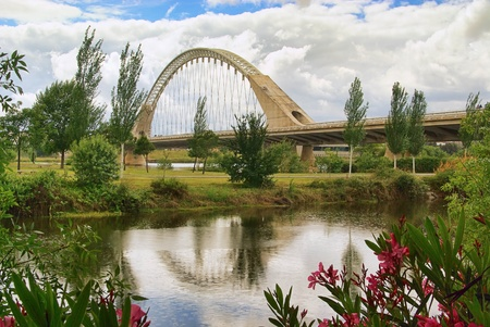 merida: Merida new bridge Stock Photo
