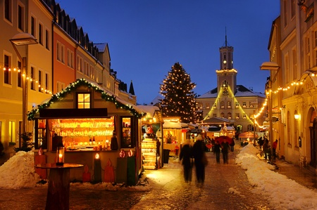 Schneeberg Christmas market Stock Photo - 10483992