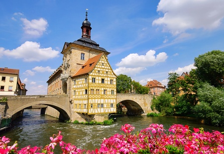 guildhall: Bamberg townhall  Stock Photo
