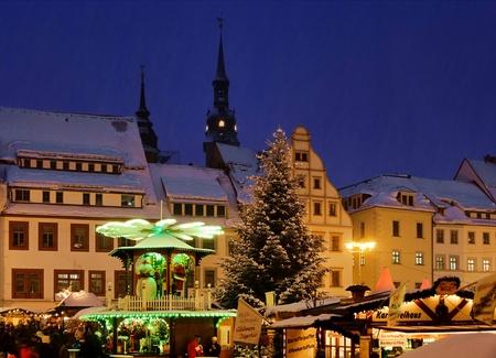 erz: Freiberg Weihnachtsmarkt - Freiberg christmas market 01