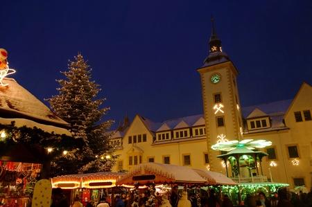 striezelmarkt: Freiberg Weihnachtsmarkt - Freiberg christmas market 02 Editorial