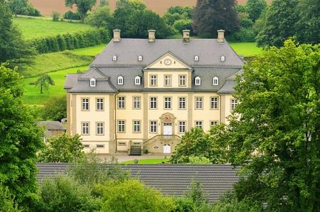 schloss: Koertlinghausen Schloss - Koertlinghausen palace 01