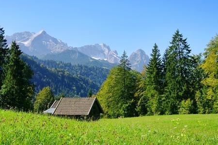 zugspitze mountain: mountain Zugspitze 01