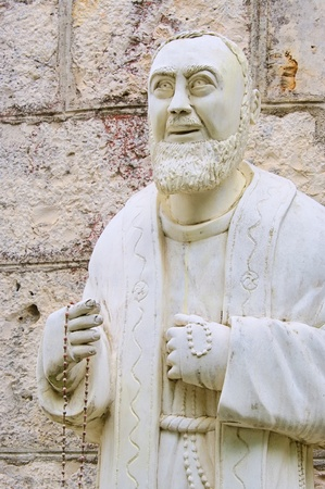 blissfully: Padre Pio  Stock Photo