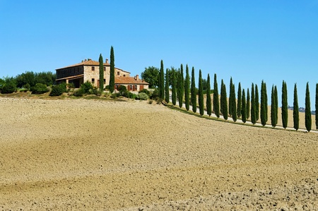 Podere in fall  Stock Photo - 11348192