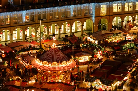 market hall: Dresden christmas market