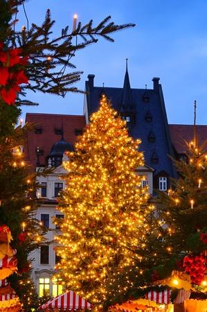 striezelmarkt: Leipzig christmas market 02