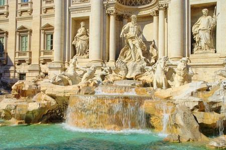Rome Trevi Fountain  photo