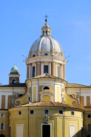 Rome church Santa Maria del Popolo Stock Photo - 12837861