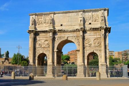 constantine: Rome Arch of Constantine  Stock Photo