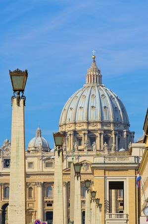 Rome Papal Basilica of Saint Peter  photo