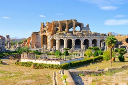 amphitheatre: Capua amphitheatre