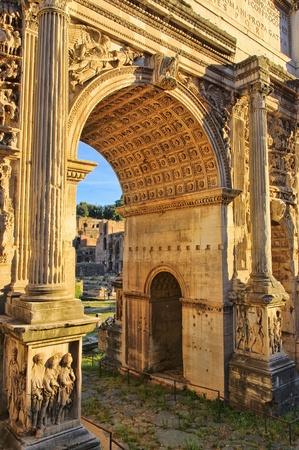 severus: Rome Arch of Septimius Severus 01