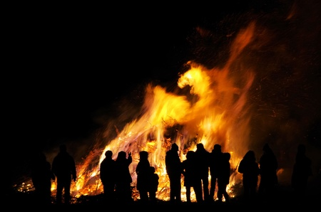 bonfire night: Walpurgis Night bonfire 104