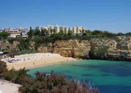barlavento: Algarve beach 10 Stock Photo