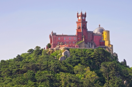 sintra: Sintra Palacio Nacional da Pena