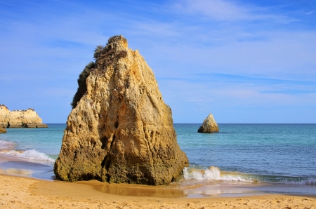 barlavento: Algarve beach 05 Stock Photo
