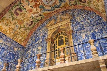 Obidos glazed tile