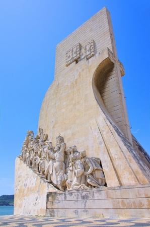 Lissabon Denkmal der Entdeckungen 01 Standard-Bild - 15193034