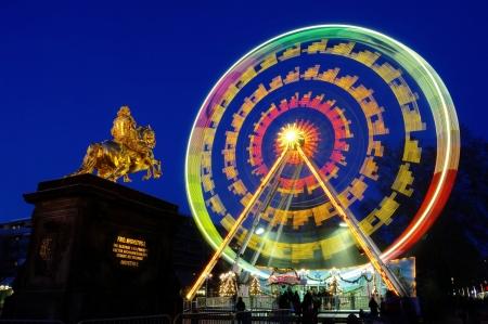 striezelmarkt: Dresden christmas market ferris wheel