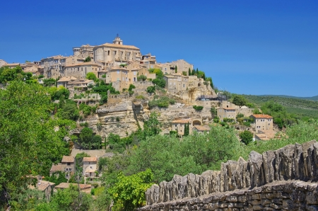 gordes: Gordes  Stock Photo