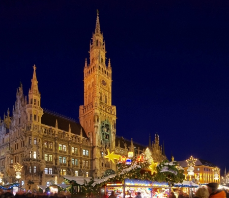 Munich christmas market 04 photo