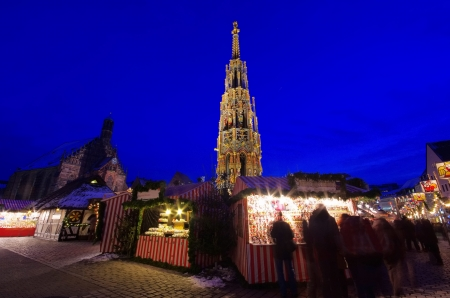 Nuremberg christmas market 02 photo