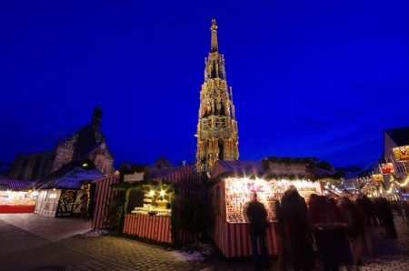 Nuremberg christmas market 01 photo