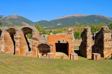 amphitheatre: Amiternum amphitheatre