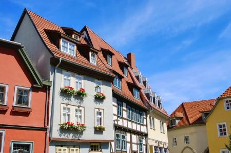 erfurt: Erfurt half-timbered 06 Stock Photo