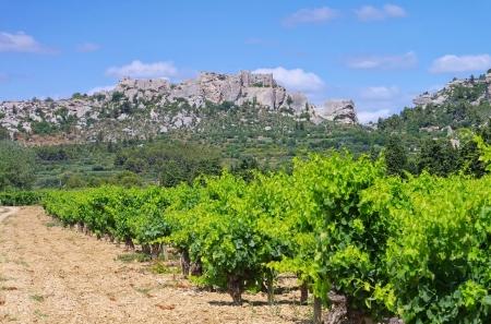 les: Les Baux-de-Provence Stock Photo
