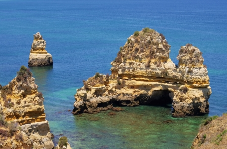 barlavento: Algarve beach   Stock Photo