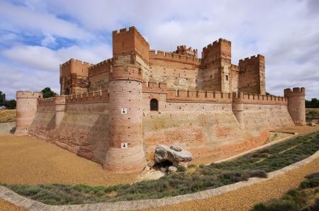 Castillo de la Mota 02 Stok Fotoğraf