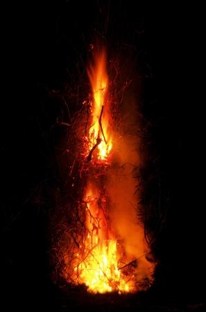 Walpurgis Night bonfire 105 Stock Photo - 19060627