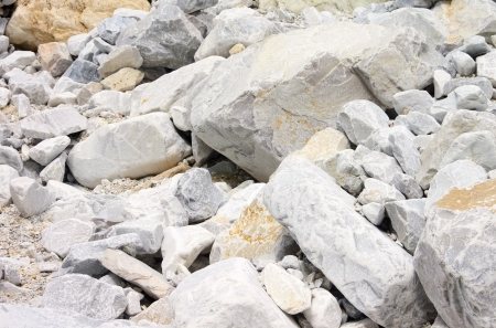 Carrara  marble stone pit 27 photo