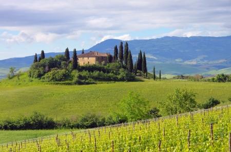 podere: Tuscany house 06 Stock Photo