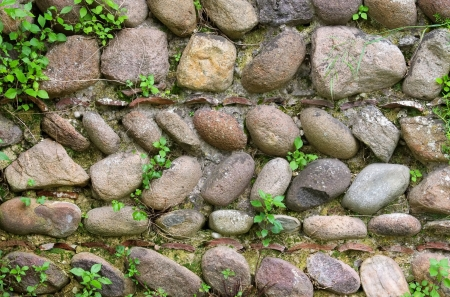 natural stone wall Stock Photo - 21603667