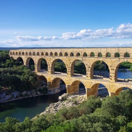 Pont du Gard Foto de archivo - 21603720