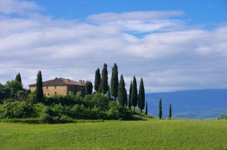 siena italy: Tuscany house  Editorial