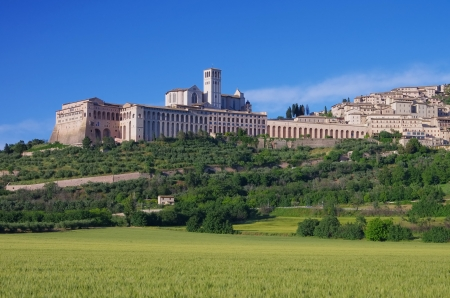 Assisi  Stock Photo