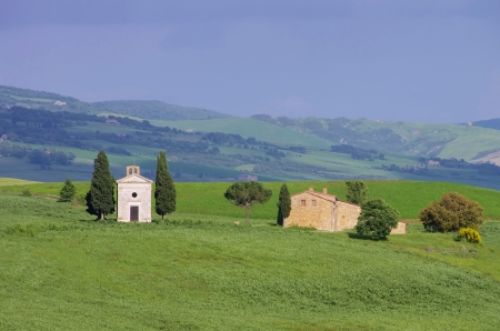 podere: Tuscany chapel
