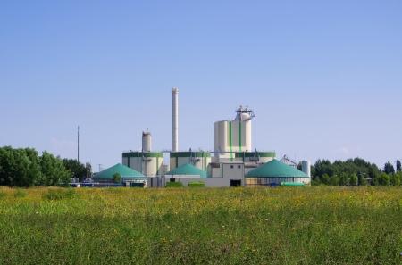 Biogasanlage Standard-Bild - 22096530