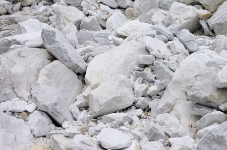 Carrara  marble stone pit  photo